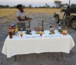 Tequila Sunsets at sunset in Gomoti