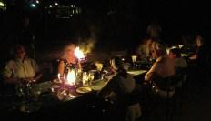 Festive dinner at Tubu