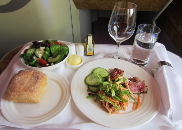 emirates-a380-business-sesame-tuna