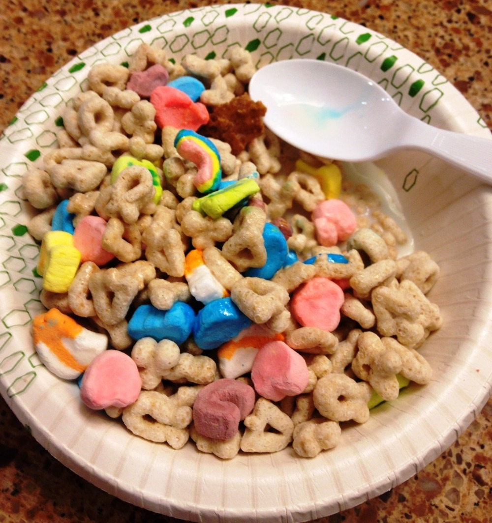 lucky charms st pats day