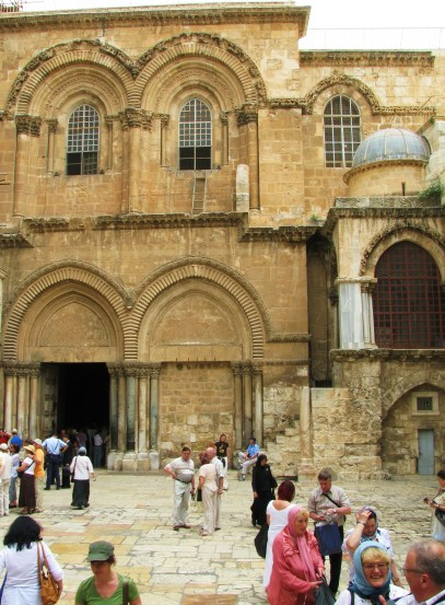 Church of the Holy Sepulcher Courtyard