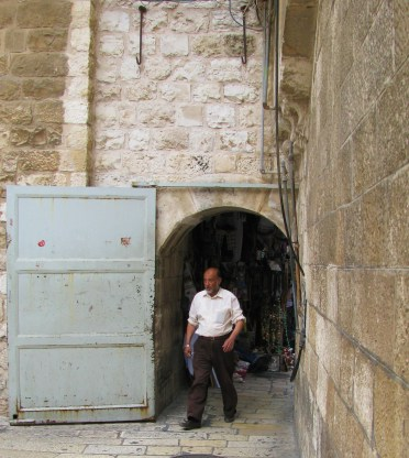 Church of the Holy Sepulcher entrance