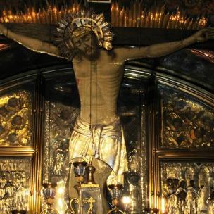 Via Dolorosa Station 12 Jesus