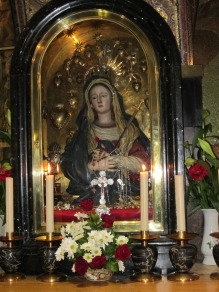 Via Dolorosa Station 12 Mary