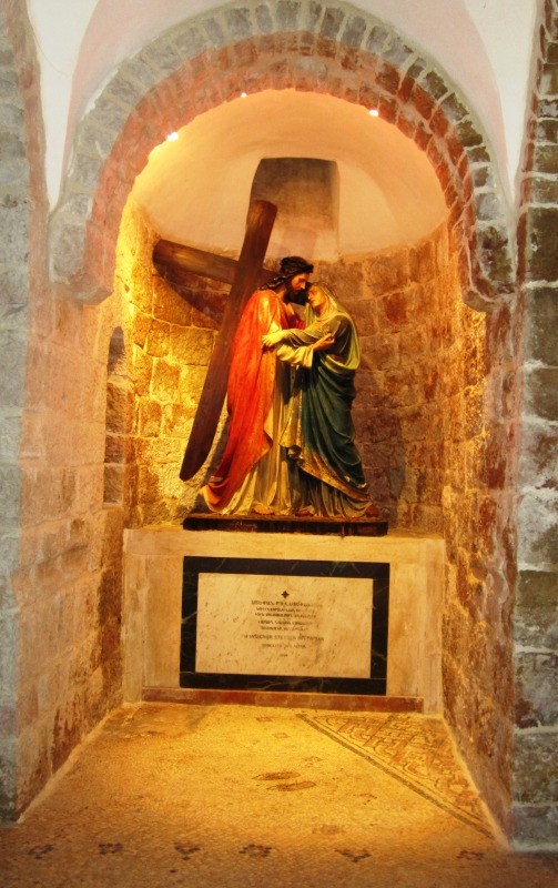 Via Dolorosa Station 4 prayer