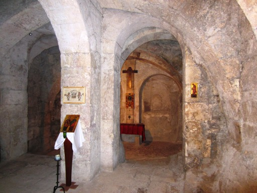 Via Dolorosa Station 6 Old Chapel