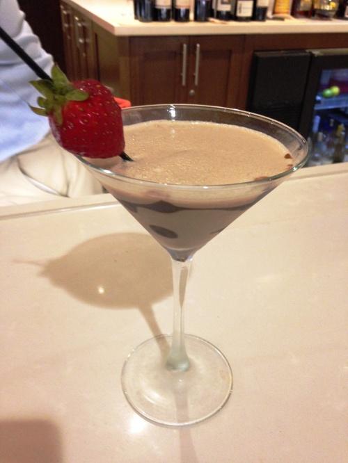 Chocolate Martini Hilton garden Inn Charlotte
