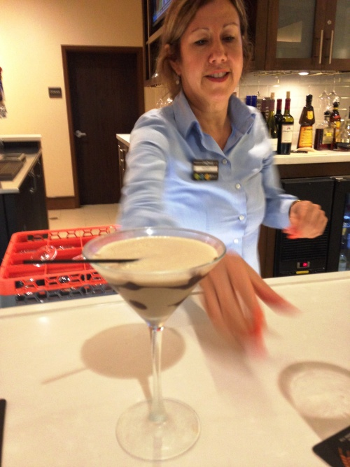 Chocolate Martini Hilton Garden Inn CLT