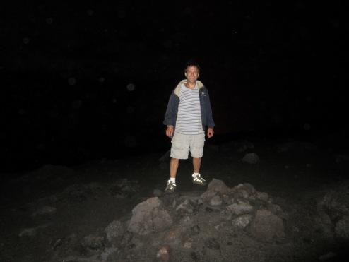 Paul at Mt Yasur Tanna Vanuatu