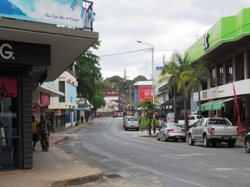 Port Vila Vanuatu Downtown
