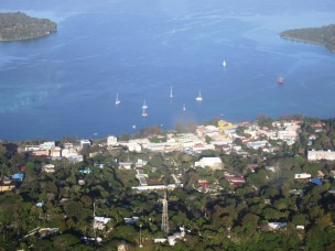 Port Vila Vanuatu from the air 1
