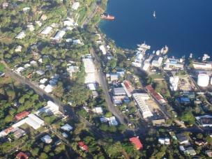 Port Vila Vanuatu from the air 2