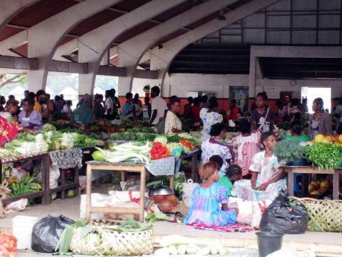 Port Vila Vanuatu market 2