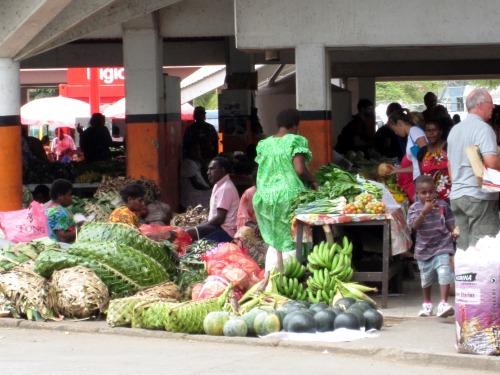 Port Vila Vanuatu market