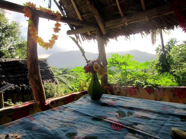 Restaurant at Volcana Island Paradise