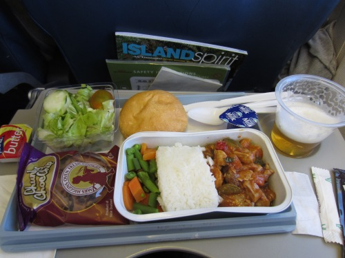 Air Vanuatu Lunch