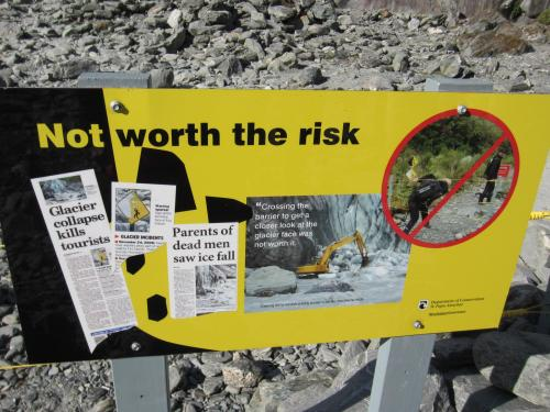 Franz Josef worth the risk