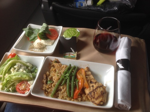 American Airlines Chicken with Mushroom Rice