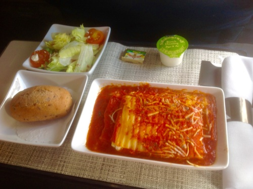 American Airlines Cheese Lasagna