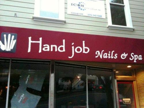 Nail Salon in San Francisco (where else would it b