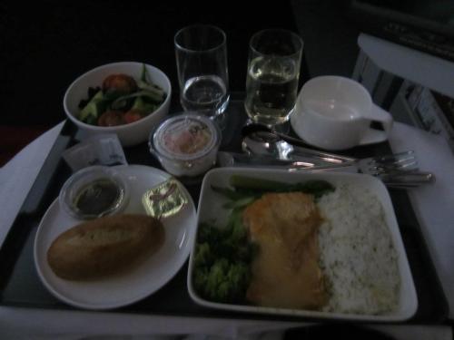 Qantas salmon