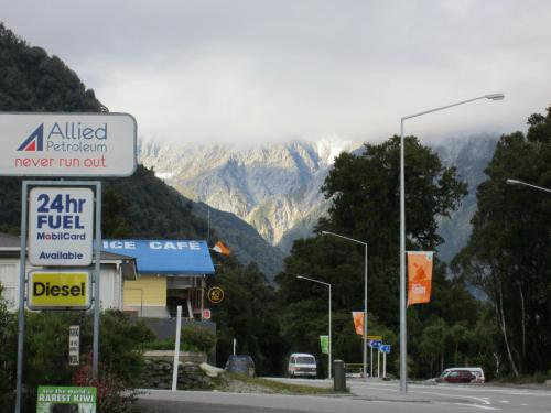 The town of Franz Josef