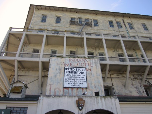 alcatrez indians welcome