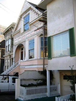 This is where I lived in lower pac heights It is s