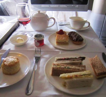 British Airways Tea Service