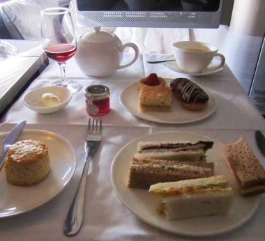 British Airways Tea Service