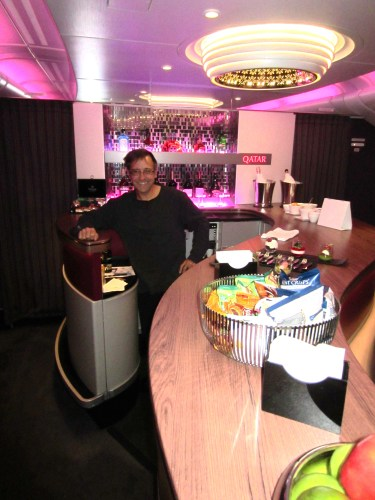Qatar Airlines A380 Bar