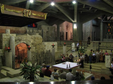Inside Church of the Annunciation