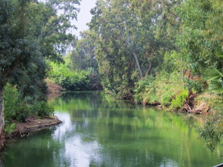 Jordan River Baptisimal Place