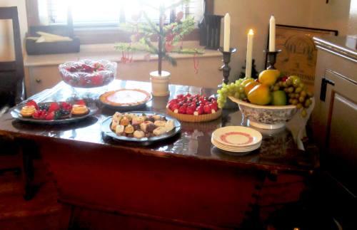 Strawberry Mansion Food