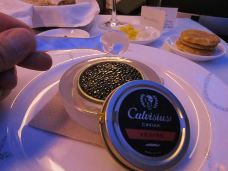Cathay Pacific Caviar Spoon