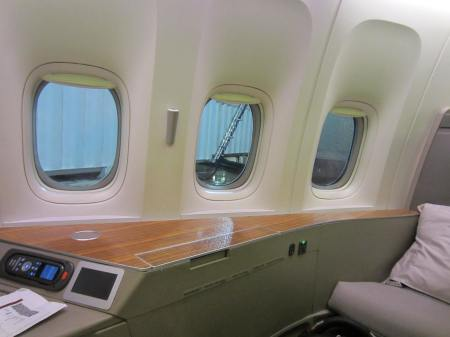 Cathay Pacific First Windows