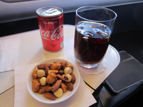 BA First Coke and Mixed Nuts