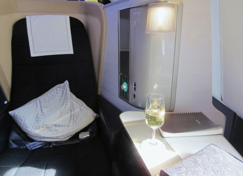 BA First Seat