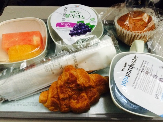 korean air breakfast