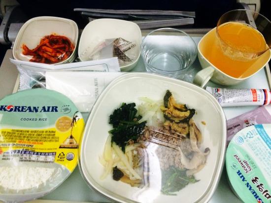 korean air meal