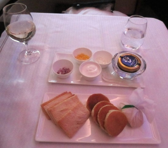 Qatar caviar service