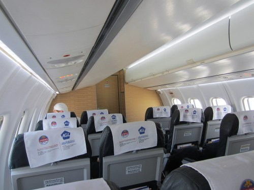 Lao airline cabin