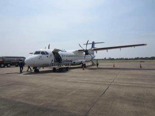 Lao airlines airplane