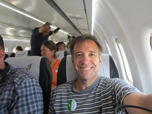 Paul flies lao airline
