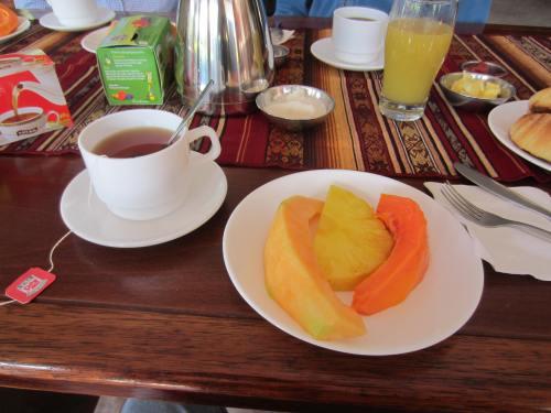 Bio Hostal breakfast