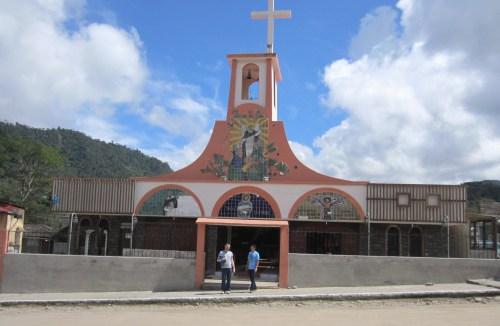 catholic church mindo