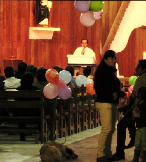 catholic church service