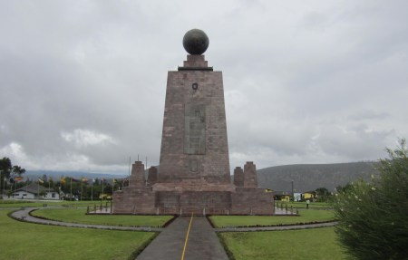 memorial to equator