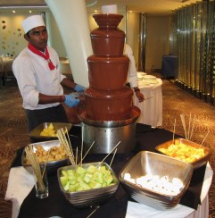 Celebriity Chocolate Fountain