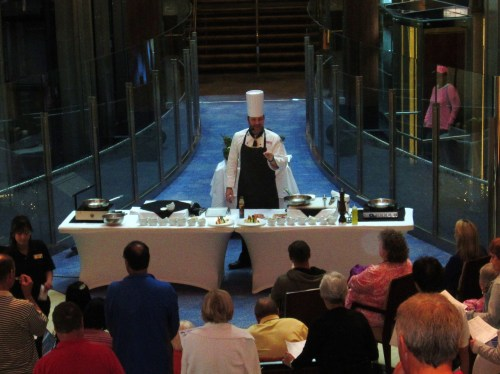 Celebrity Solstice cooking demo